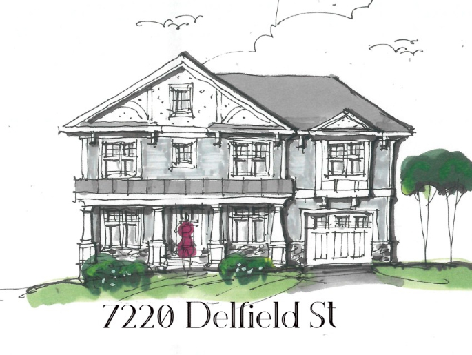The Delfield  - Elevation 1