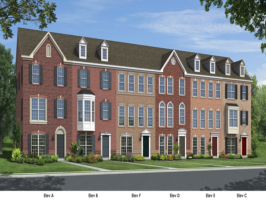 Davidson III - Urban Towns with 3 finished levels, gourmet kitchen, and quality finishes