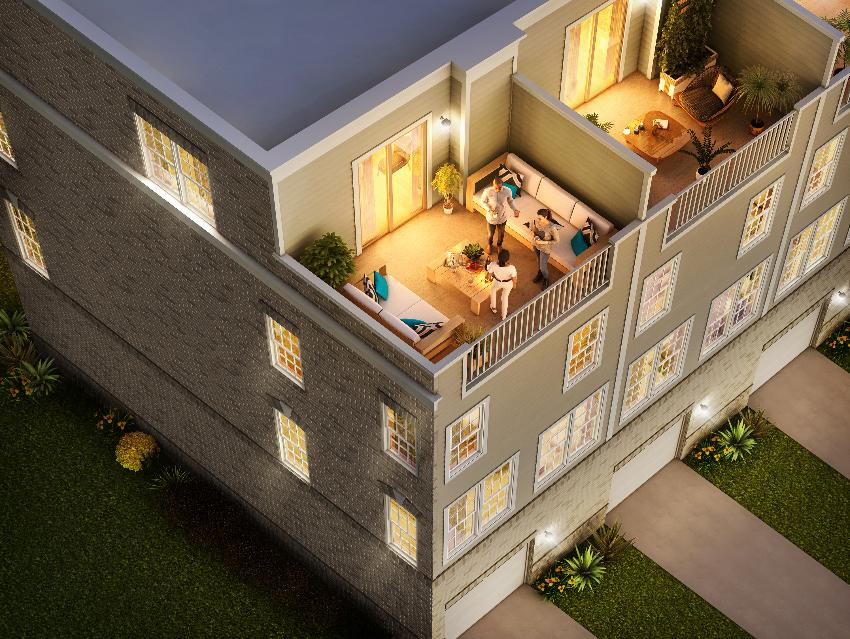 Skytowns 42B - View NEW Interactive Floor Plan Below