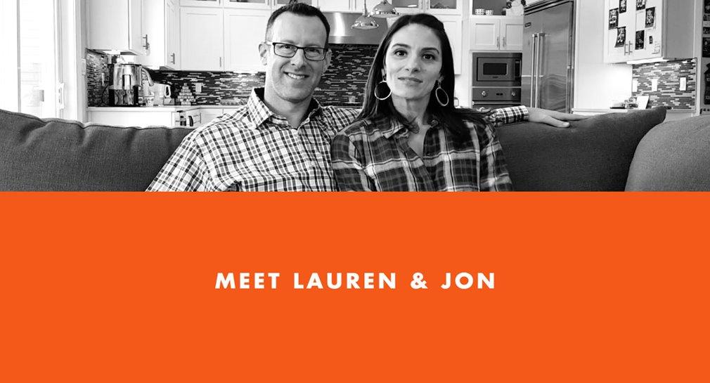 Meet Lauren and Jon